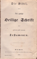 ABS German Bible Title Page, 1882