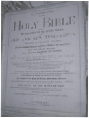 Parish Bible, Unknown Date