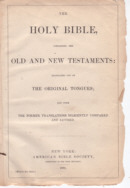 ABS Bible Title Page 1880